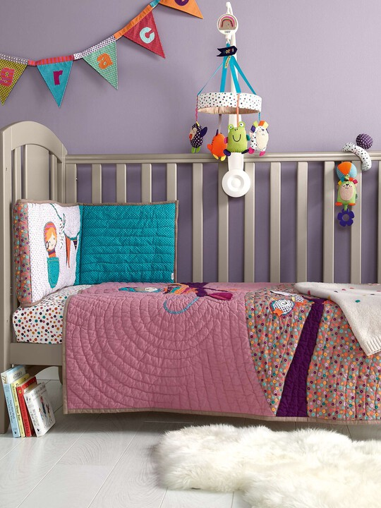 Timbuktales - Girls Cotbed Coverlet image number 2