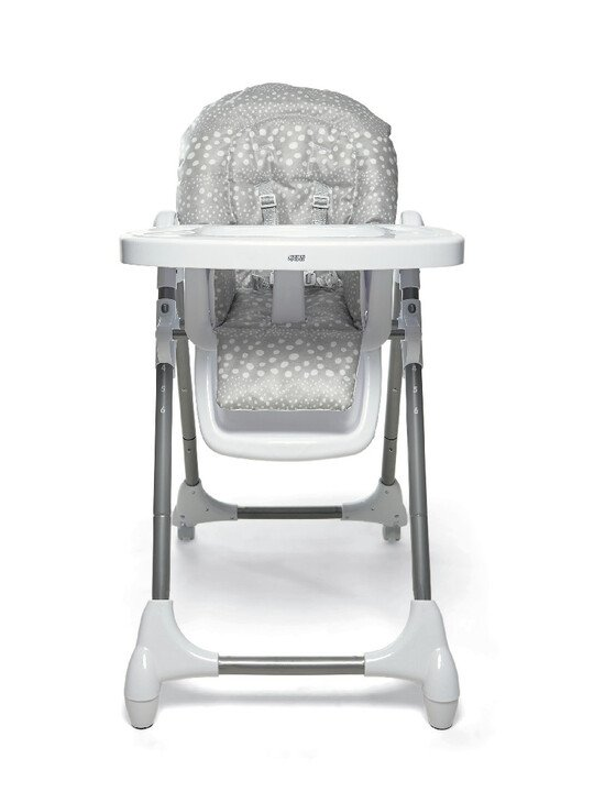 Baby Bud Soft Grey with Snax Highchair Grey Spot image number 4