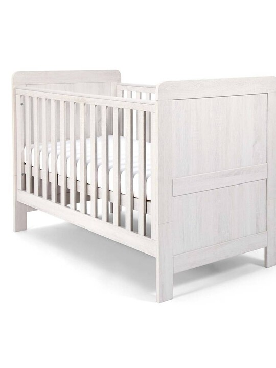 Atlas Cot/Toddler Bed - White image number 1