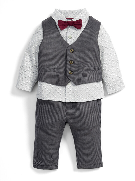 Wasitcoat, Shirt, Trouser & Bow Tie Set image number 1