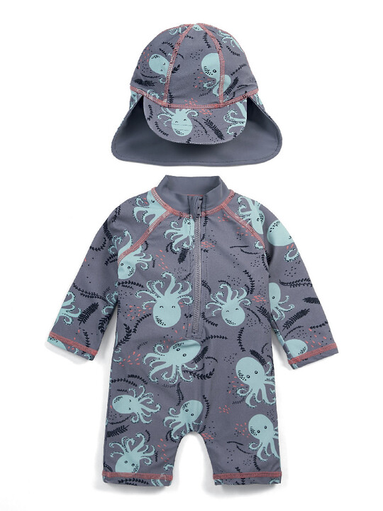 Octopus Rashsuit & Hat image number 1