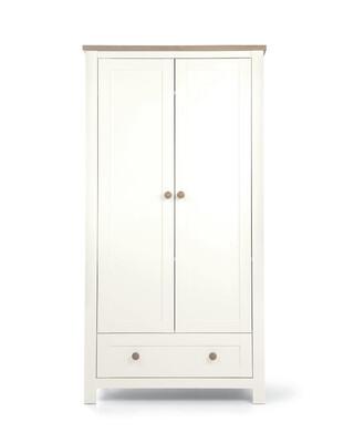Keswick Nursery Wardrobe White Oak