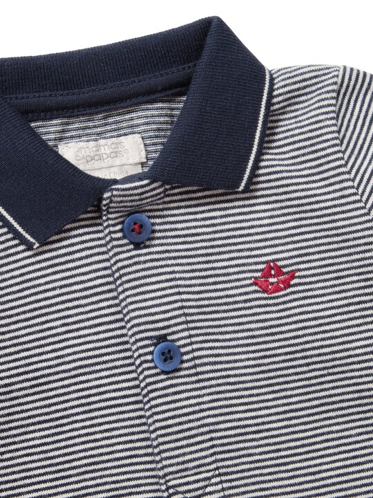 Striped Polo image number 3