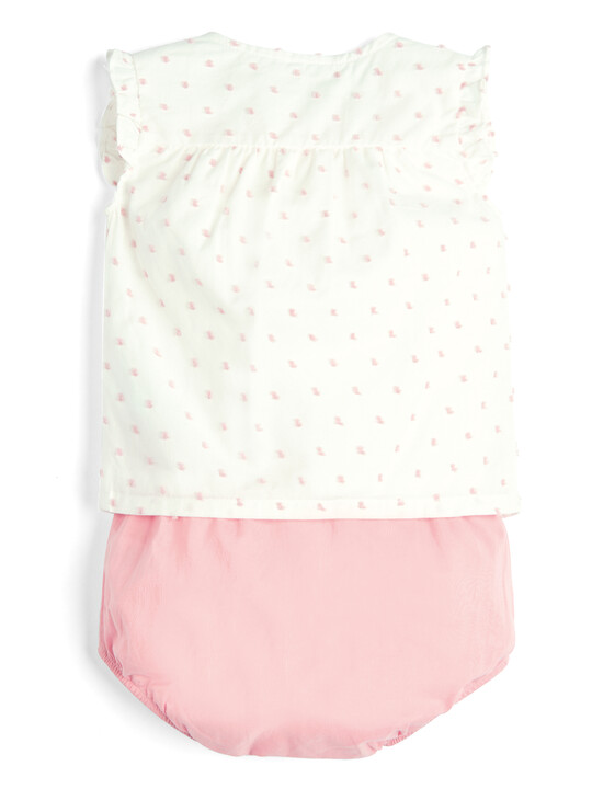 Blouse and Bloomer Shorts - 2 Piece Set image number 2