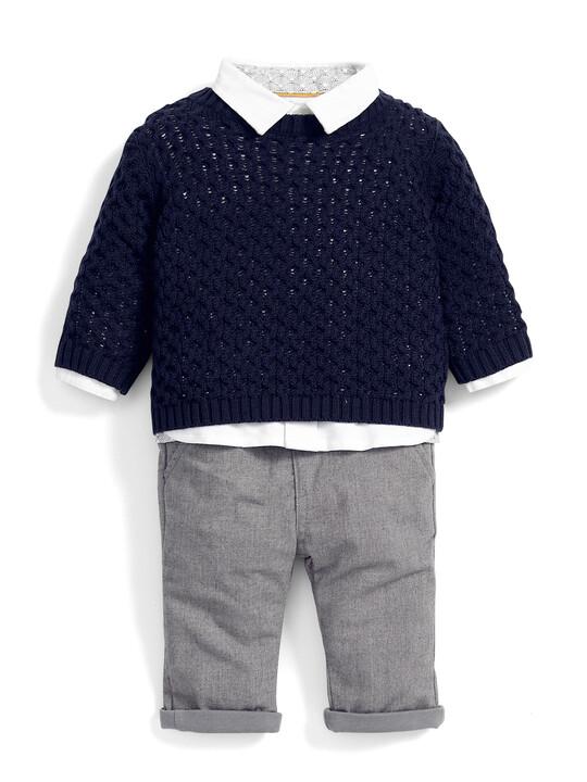 Jumper , Shirt & Trousers Set image number 1