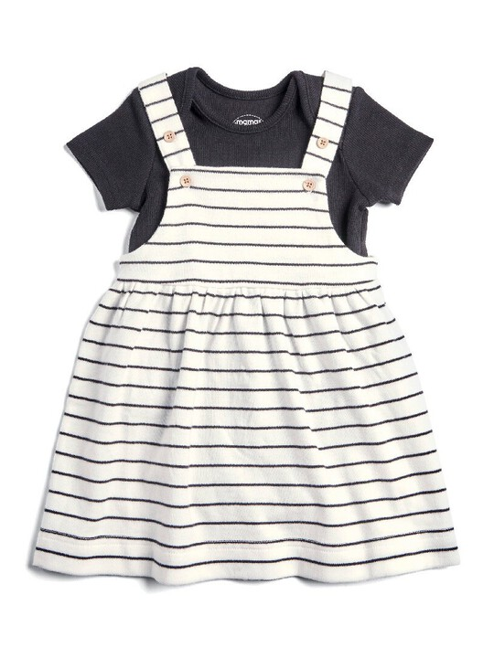Pinny Dress & Bodysuit Set image number 1