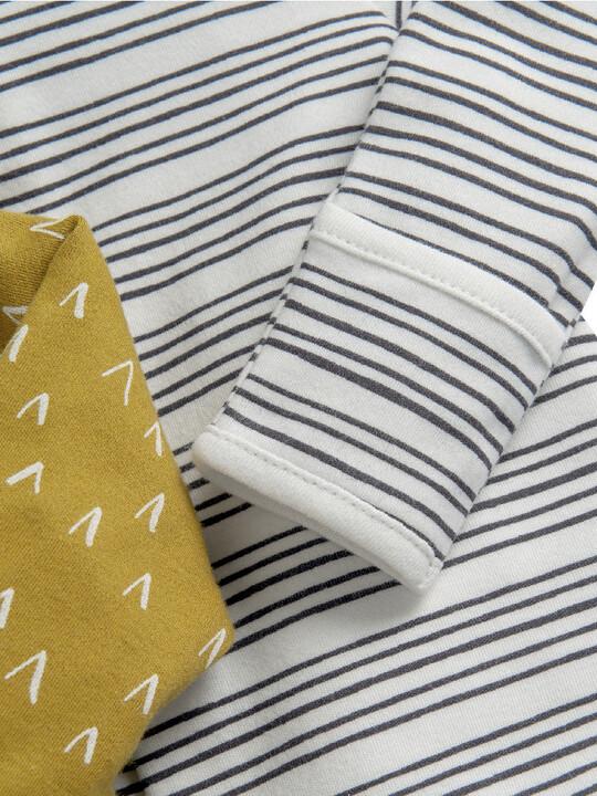 3 Pack Safari Sleepsuits  image number 4