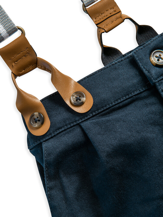 Navy Chino With Braces image number 3