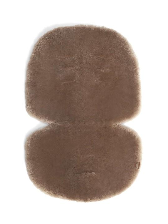 Luxury Sheepskin Pushchair Liner - Fawn image number 1