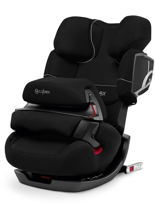CYBEX Pallas 2-Fix Car Seat - Pure Black image number 1