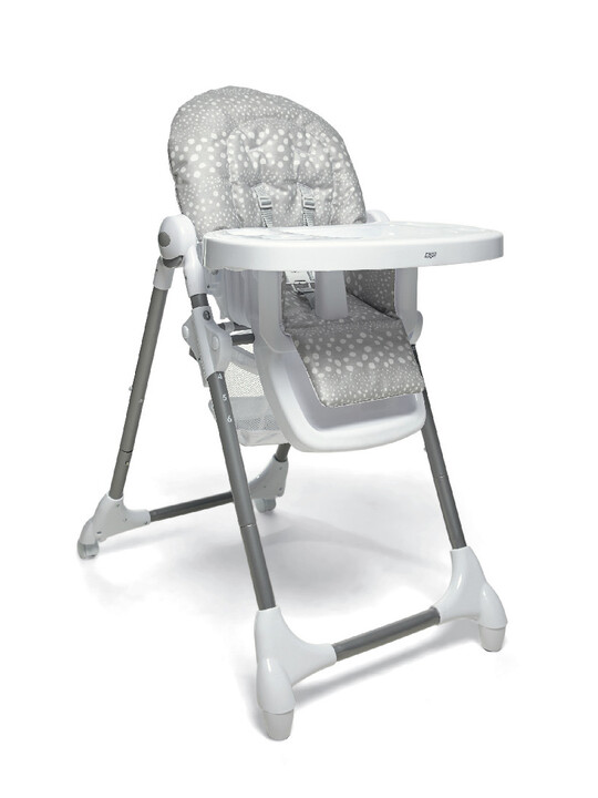 Baby Bud Soft Grey with Snax Highchair Grey Spot image number 2