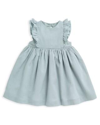 Woven Frill Dress