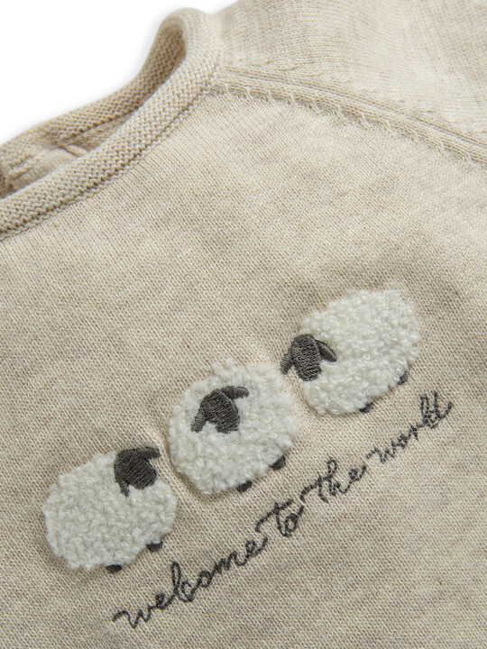 Knitted Sheep Jumper image number 3