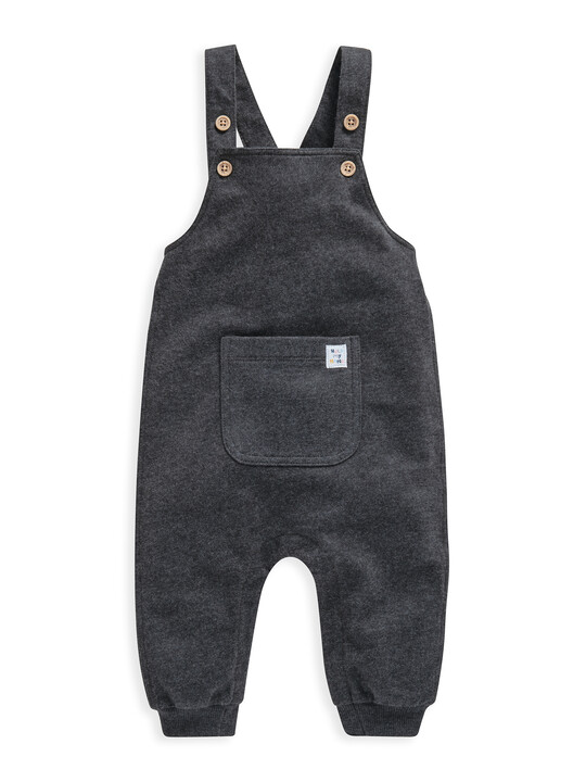 Charcoal Jersey  Dungaree image number 1