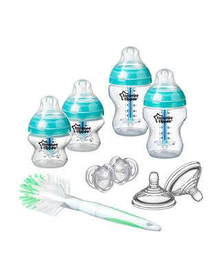 Tommee Tippee Advanced Anti-Colic New Born Starter Kit- Clear