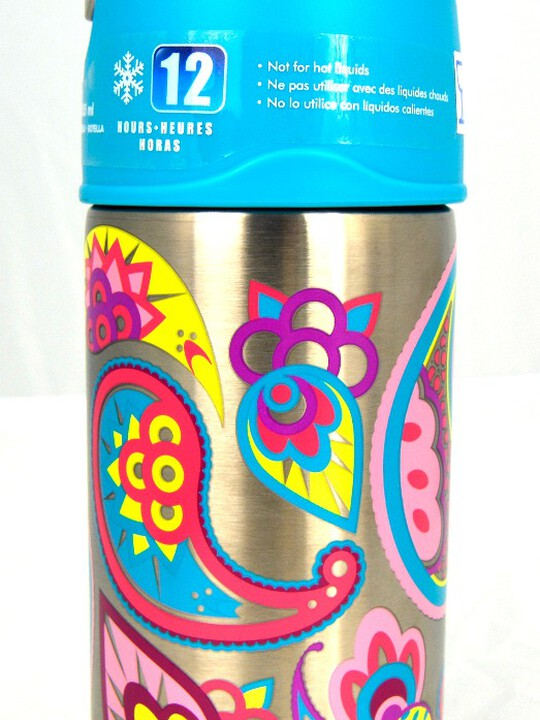 Thermos - Funtainer Bottle Steel Hydration Bottle 355Ml,Paisley Flower image number 3