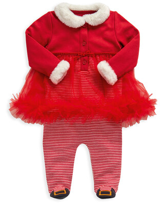 Santa All-in-One with Tulle Skirt