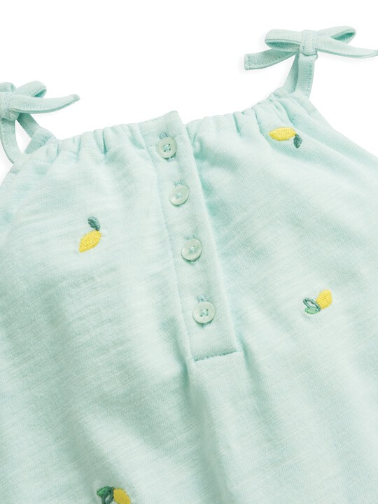 Embroidered Dungaree image number 6