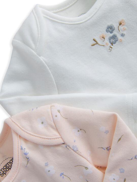 Floral Bodysuits 2 Pack image number 2