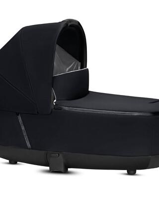 PRIAM Carry Cot Lux Premium Black