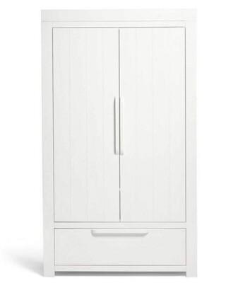 Franklin Wardrobe - White Wash