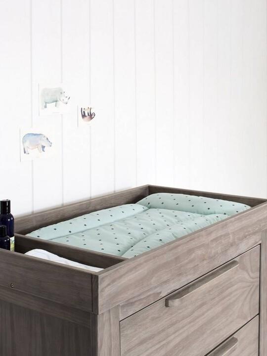 Franklin 3 Door Dresser & Changing Unit - Grey Wash image number 3