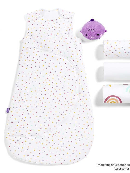 3pc Crib Bedding Set – Colour Rainbow image number 3