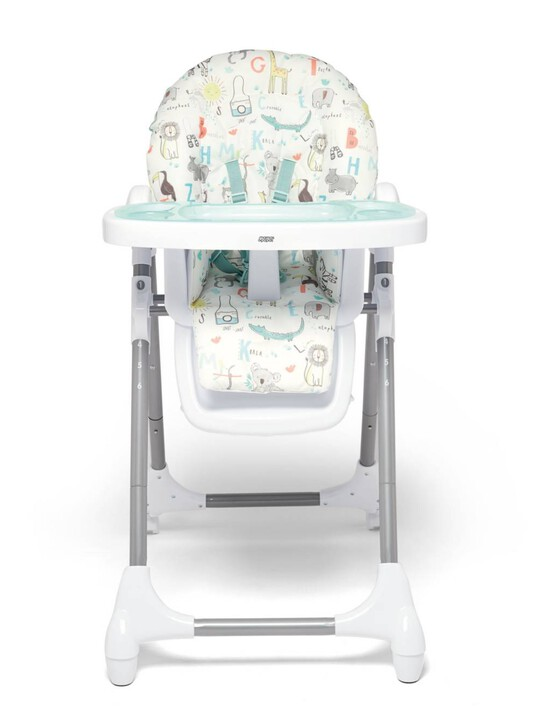 Snax Adjustable Highchair with Removable Tray Insert - Safari image number 4