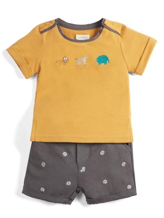 Animal T-Shirt & Short Set image number 1