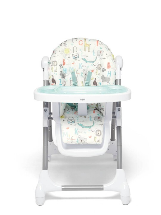 Snax Adjustable Highchair with Removable Tray Insert - Safari image number 5