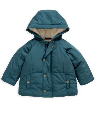 Green Puffa Coat