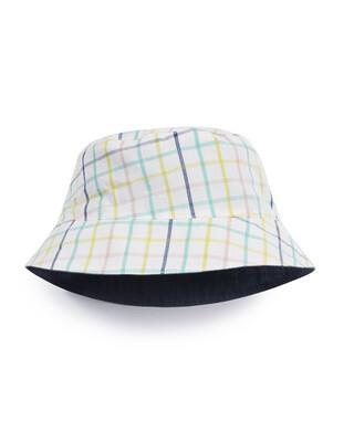 Checked Stripe Hat
