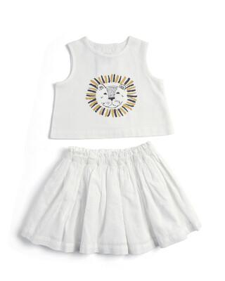 Lion Top & Skirt Set - 2 Piece