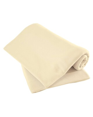 Cream Pack of Two Fitted Sheets - Cotbed
