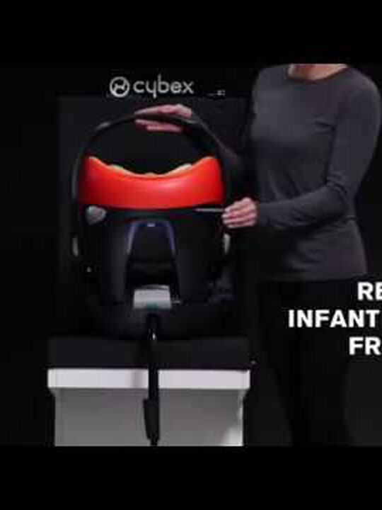 CYBEX Aton Q Car Seat - Navy image number 2