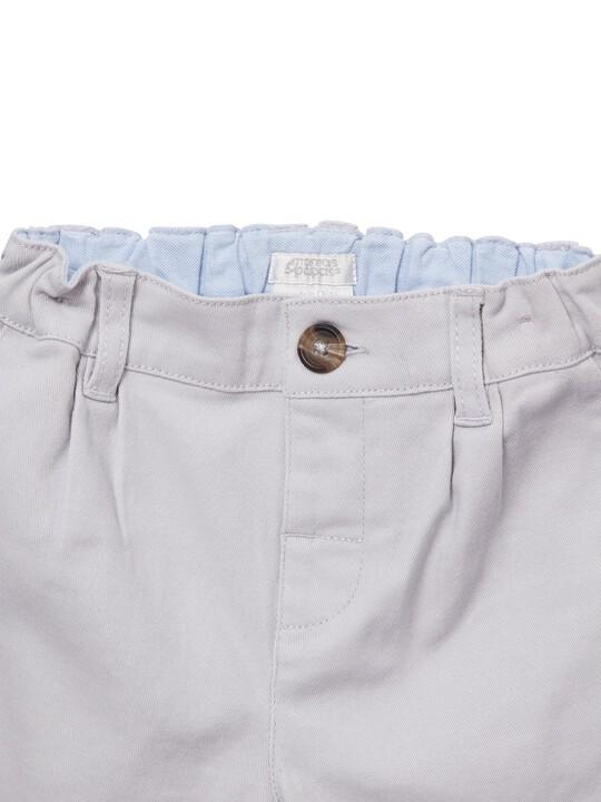 Grey Chino Shorts image number 3