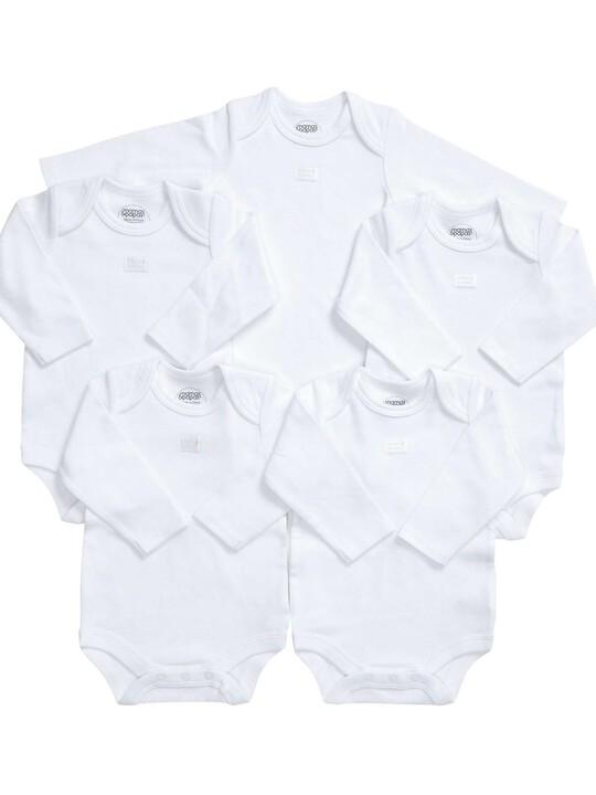 Long Sleeved Bodysuits (Set of 5) image number 4