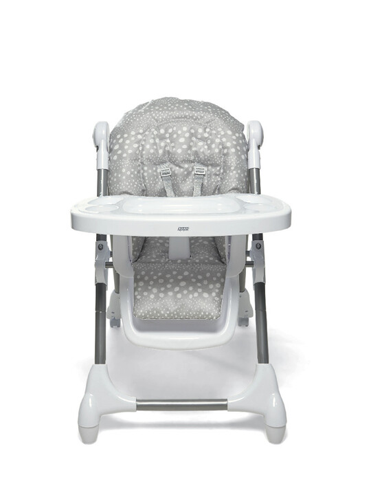 Baby Bud Soft Grey with Snax Highchair Grey Spot image number 7