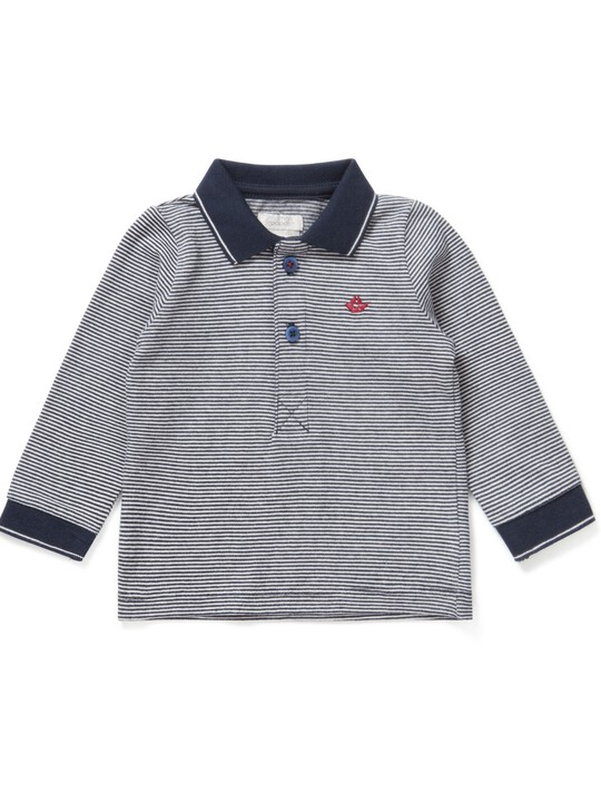 Striped Polo image number 1
