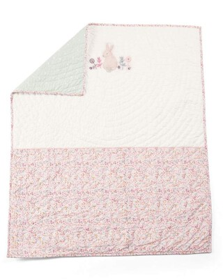 Lilybelle Coverlet Cotbed/Cot - Pink