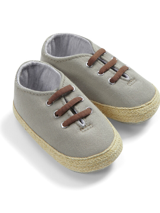 Grey Twill Shoe image number 1
