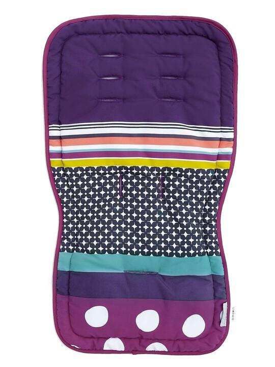 Essentials Pushchair Liner - Carousel Pink image number 1