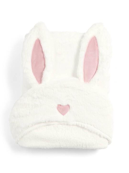 Hooded Rabbit Towel - Millie & Boris image number 1