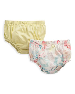 2 Pack Floral Print Knickers