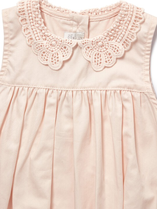 Lace Collar Romper image number 3