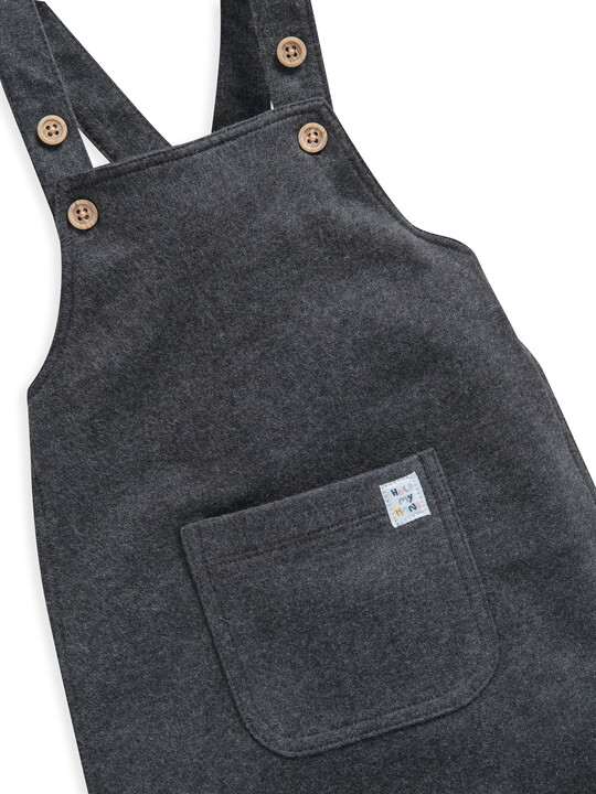 Charcoal Jersey  Dungaree image number 3