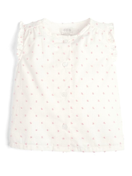 Blouse and Bloomer Shorts - 2 Piece Set image number 3