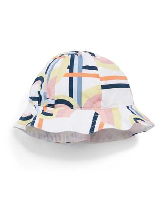 Geo Print Hat