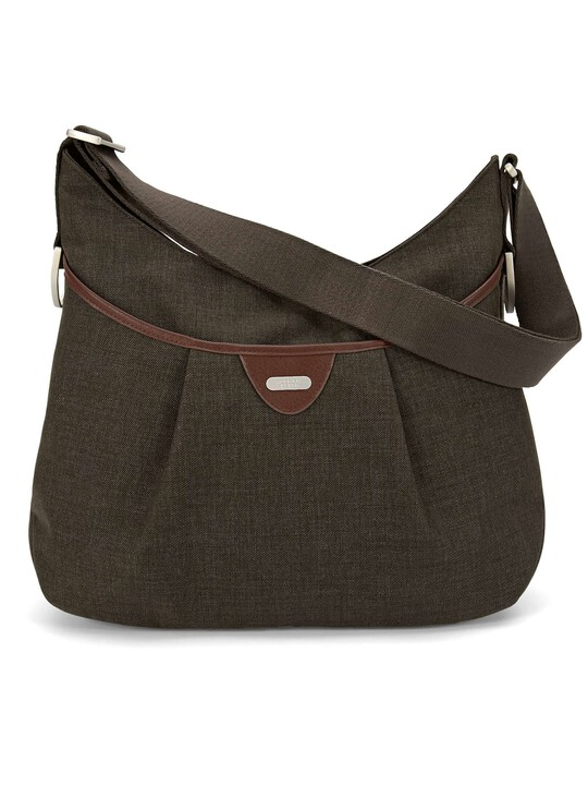 Ellis Shoulder Bag Tweed - Khaki image number 3