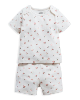 Rose Bud Jersey Short Pyjamas